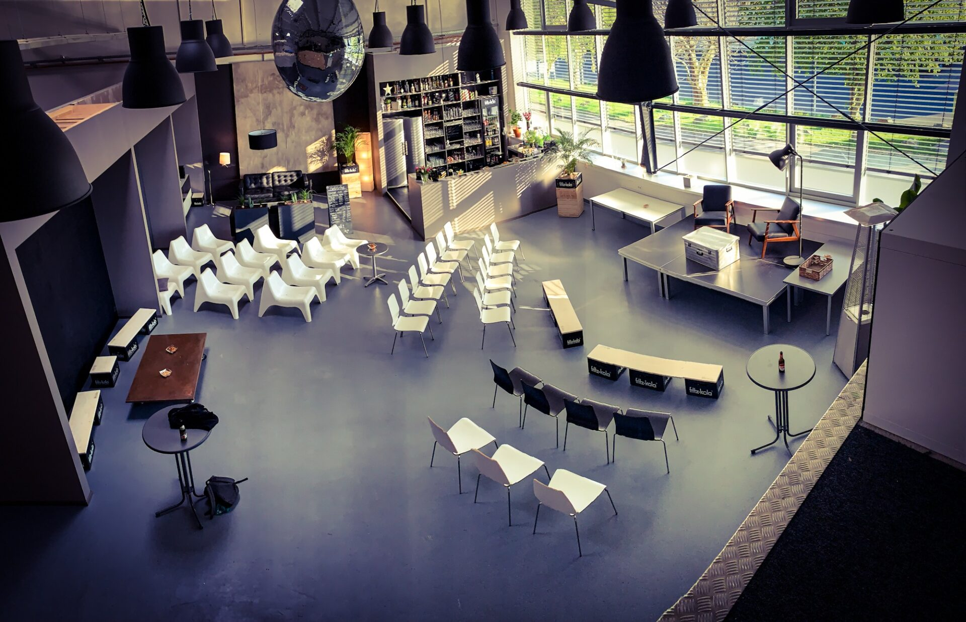 STUDIO Bestuhlung Vortrag 002